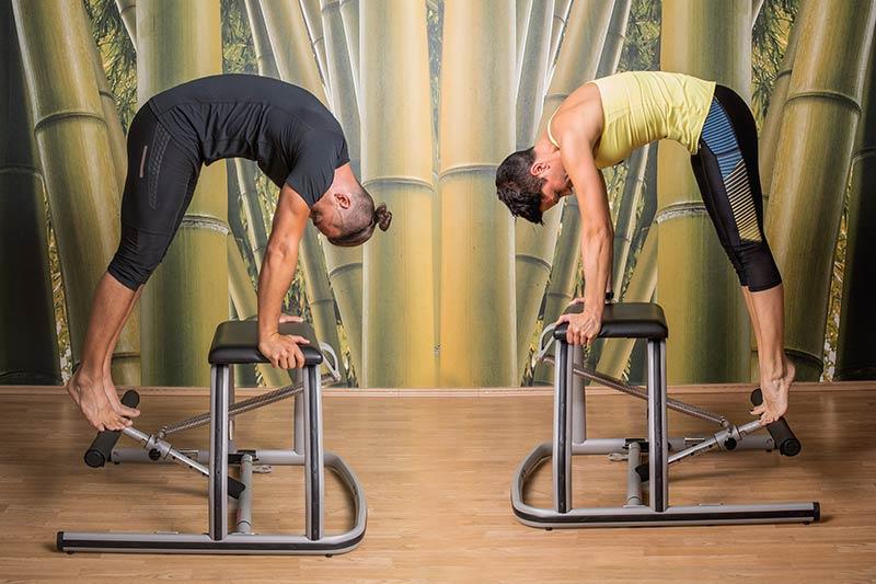 vadba v paru pilates